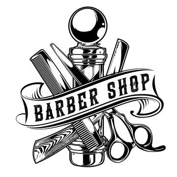 Barber Shop Hair Salon Hair Stylist Vintage King Logo Luxury Pomade Retro Royal Vector 05