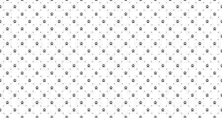 Pet print seamless pattern. Abstract animal vector background.