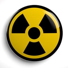 Nuclear Symbol Radiocative Hazard Warning