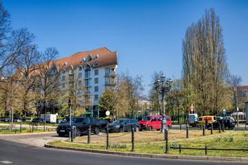 Fotomurales - schloßstraße in berlin charlottenburg, deutschland