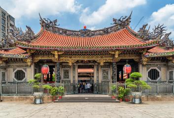 Main entrance of Mengjia Longshan Temple, Taipei, Taiwan
