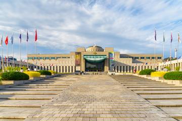 Main view of the War Memorial of Korea in Seoul