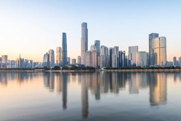 Beautiful city scenery, Guangzhou, China