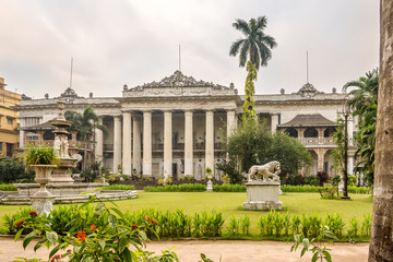 View at the Marble Palace in Kolkata - India,West Bengal Papier Peint