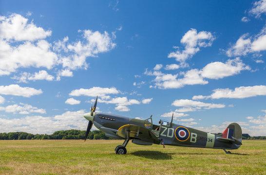 Supermarine Spitfire Mark IXb British World War Two Fighter Plane