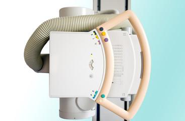 Röntgengerät in der Radiologiepraxis, Detailaufnahme