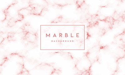 Pink marble textured background vector