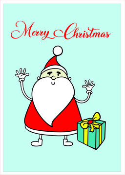Christmas editable vector illustration for graphic designers to make social meida post like cards, posters