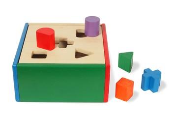 Wooden child game