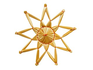 Star from straws