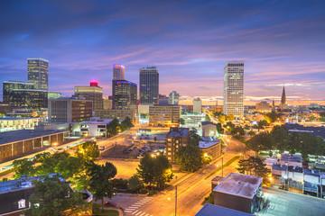 Wall Mural - Tulsa, Oklahoma, USA Skyline