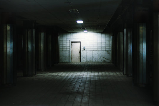 Train Station Underground Mysterious atmosphere