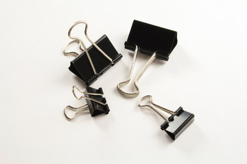 bulldog clips in two sizes