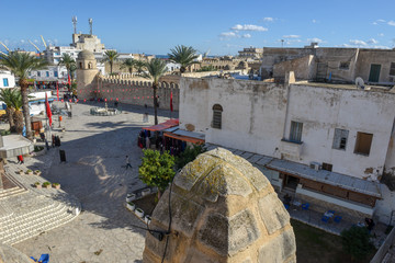The traditional medina at Sousse in Tunisia
