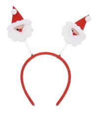 Christmas headband with santa claus