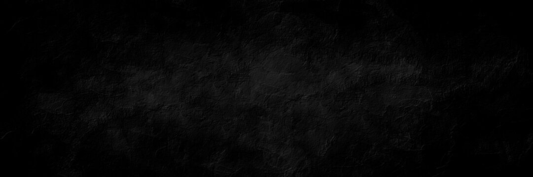 Dark charcoal color grungy cracked wall texture background with space for text or image