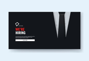 Hiring Call Layout with Retro Suit