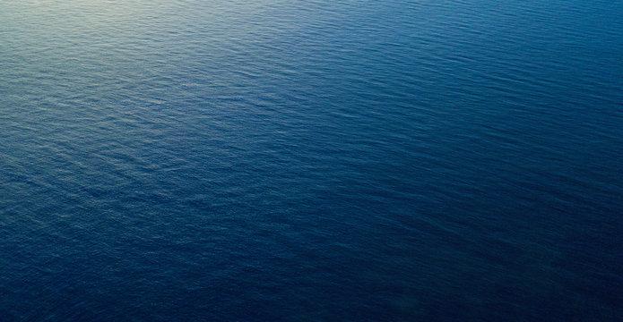ocean aerial view