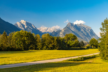 triglav national park near Bovec, Slovenia