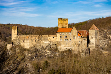 Hardegg castle in north Austria