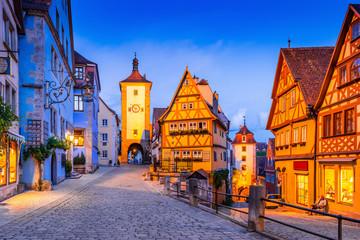 Rothenburg, Germany. Fototapete