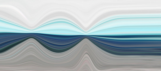 Background brown and green. Sea wave illustration. Beautiful texture in a modern style.