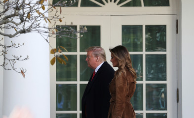 U.S. President Trump hosts pardoning of the 72nd National Thanksgiving Turkeys at the White House in Washington