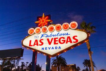 Foto auf AluDibond Las Vegas Las Vegas - USA