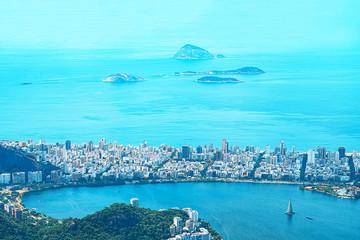 Wall Mural - Aerial view of Rio de Janeiro.