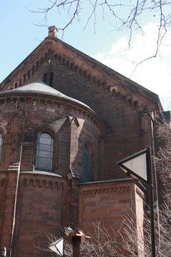 A catholic church in New York City