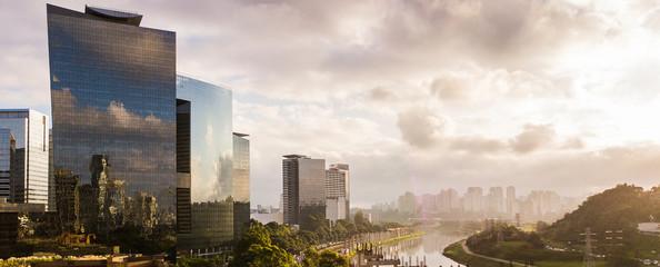 Spoed Fotobehang Brazilië São Paulo