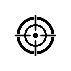 target icon vector design symbol
