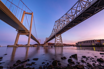 Carquinez Bridge at Dawn