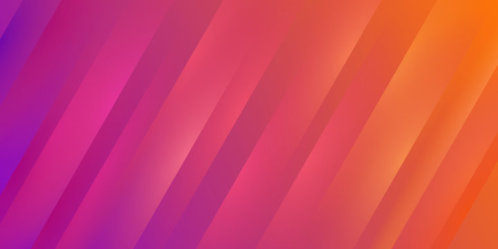 Gradient colorful yellow and purple stripe texture background