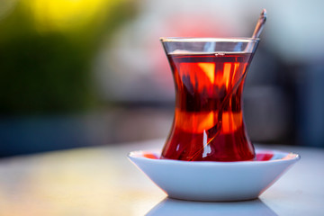 Canvas Prints Tea Turkish Tea