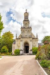 Eglise Saint Louis de Chambord beside the famous Chambord castle in Loire valley, Centre Valle de Loire in France