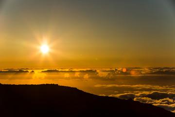Sunset in La Palma, Canary Islands, Spain