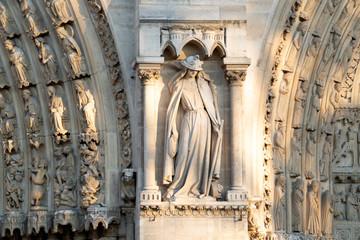 Notre dame Paris before burning