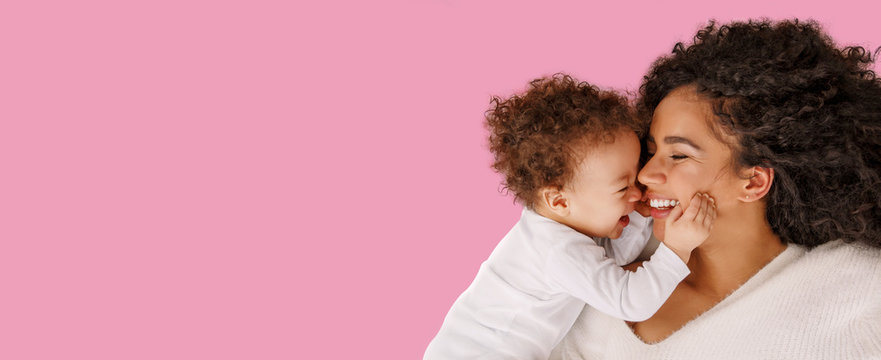 Love of a mother and baby. Family at home. Lifestyle