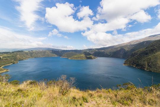Laguna Cuycocha in Ecuador