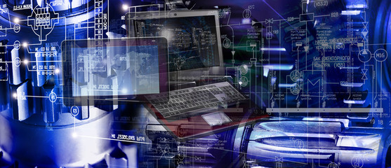 computing engineering designing technology in industry