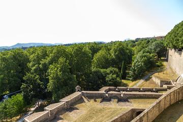Pamplona, Spain. Citadel, XVI - XVIII centuries.