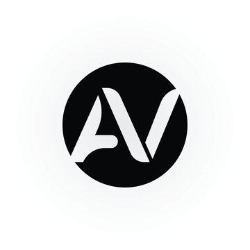 21+ Av Logo Design Free JPG