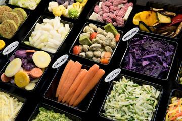 Gemüse, tiefgefroren, bio
