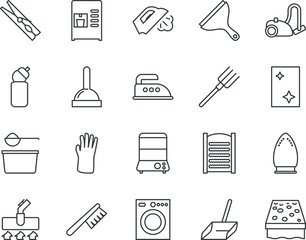 household vector icon set such as: bar, pin, wc, scoop, dirty, industry, fresh, outdoor, safety, gardening, beverage, sketch, agriculture, double, pack, hang, plastering, drink, plumber, shower