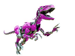 velociraptor robot walking