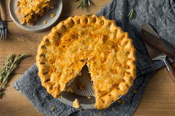 Homemade Candaian Tourtiere Meat Pie