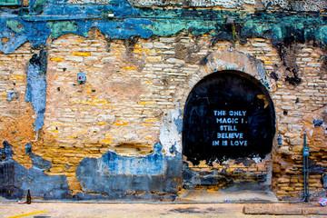Keuken foto achterwand Texas Wall Art Mural in Austin, Texas