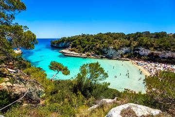 Cala Llombards, Santanyí, Mallorca, Spanien
