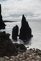 Felsen an der Reykjanes-Halbinsel, Island
